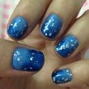 #nail #nailart #blue