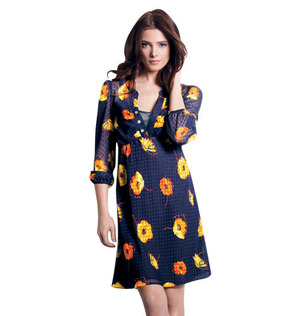 """mark Sheer Genius Dress Floral Fixation  $40.00  Sheer enough that a detachable slip is layered underneath. 100% polyester. Imported. Measures 26"""" from center back to hem (on medium).  Sizes : S, M , L , XL ,XXL"""