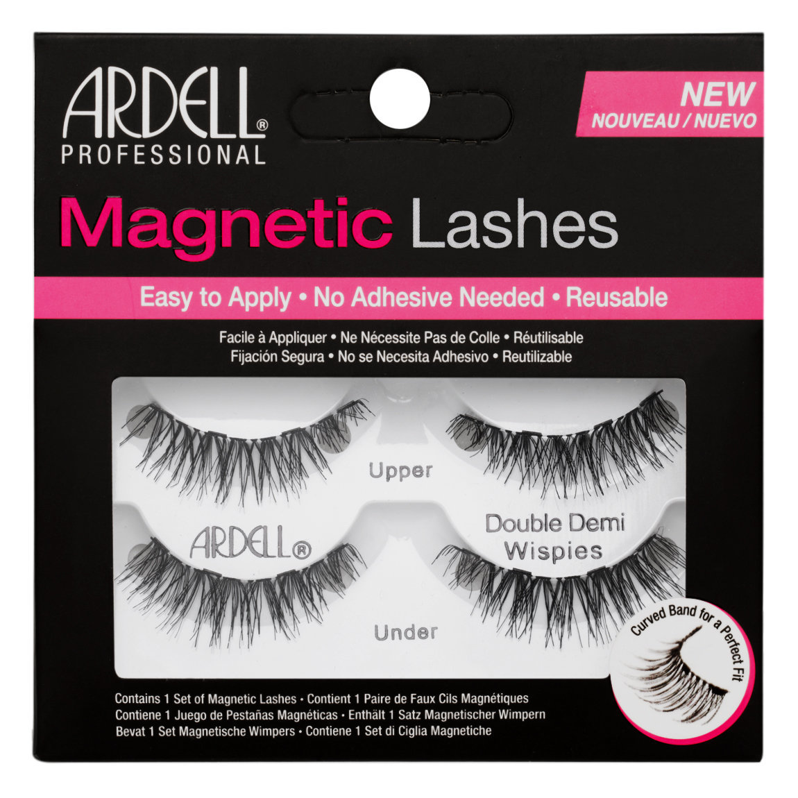 Ardell Magnetic Lashes Double Demi Whispies alternative view 1.