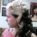 Pin Curls Up Do2