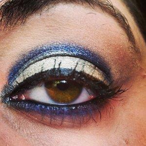 This look was created using Kat Von D's Monarch palette!