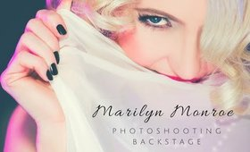 Backstage video about photoshooting my Marilyn Monroe JAN 2015