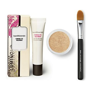 Bare Escentuals Well-Rested For Eyes & bareMinerals Firming Eye Treatment Trio