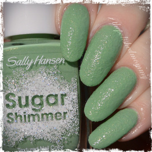 Swatch and review: http://www.thepolishedmommy.com/2014/01/sally-hansen-mint-tint.html  #sallyhansen #purchasedbyme