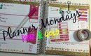Planner Mondays Pink and Gold (PoshLifeDiaries)