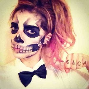 Lady gaga Born This Way skeleton inspiration
