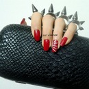 Red, Glitter And Spikes