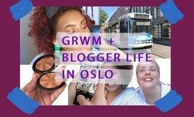 VLOG: GRWM + blogger life in Oslo