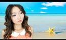❤Sexy Summer Beach Waves Hair Tutorial With A Curling Wand ❤ 夏日沙滩卷发教程
