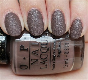 From the San Francisco Collection out in August. See my in-depth review & more swatches here: http://www.swatchandlearn.com/opi-its-all-san-andreass-fault-swatches-review