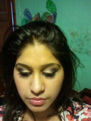 fun evening makeup