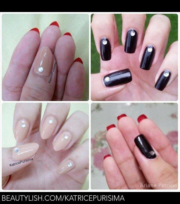 universal louboutin nails (besties with Ariane P.) <3   Katrice P.\'s ...