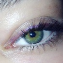 Purple eyeliner!