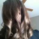 My hair when curled