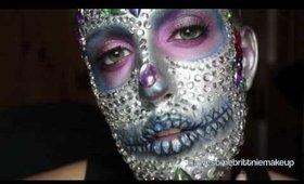 1 minute Jeweled Sugar Skull