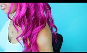 How To Get BRIGHT Mermaid Ombre Hair !