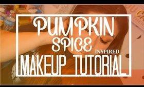 Pumpkin Spice Inspired Makeup Look