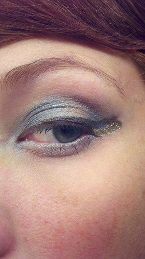 Eye Shadows are from Tick: Tock Cosmetics. The colors are sexy time, grandfather clock, and tempus fugit. My camera is terrible, but the colors are very iridescent and sparkly. They are a vegan cosmetic company. For more colors and swatches go to http://t