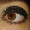 sparkly black