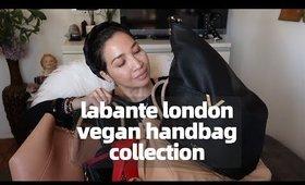 LABANTE LONDON VEGAN DESIGNER HANDBAG COLLECTION | BEST & WORST | thefabzilla