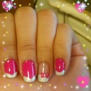 pink dream nails