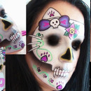 Sugarskull hello kitty ;)