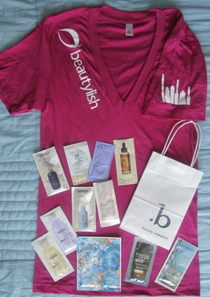 7.26.11 Beautisol / Beautylish event @ Beauty Company.  That's a lot of beauty - and swag!!  xoxo