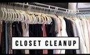 5 CLOSET CLEANUP + ORGANIZATION TIPS | ANN LE