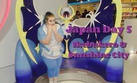 Japan Adventures Day 5: Ikebukuro & Sunshine City: The Pokemon Center!