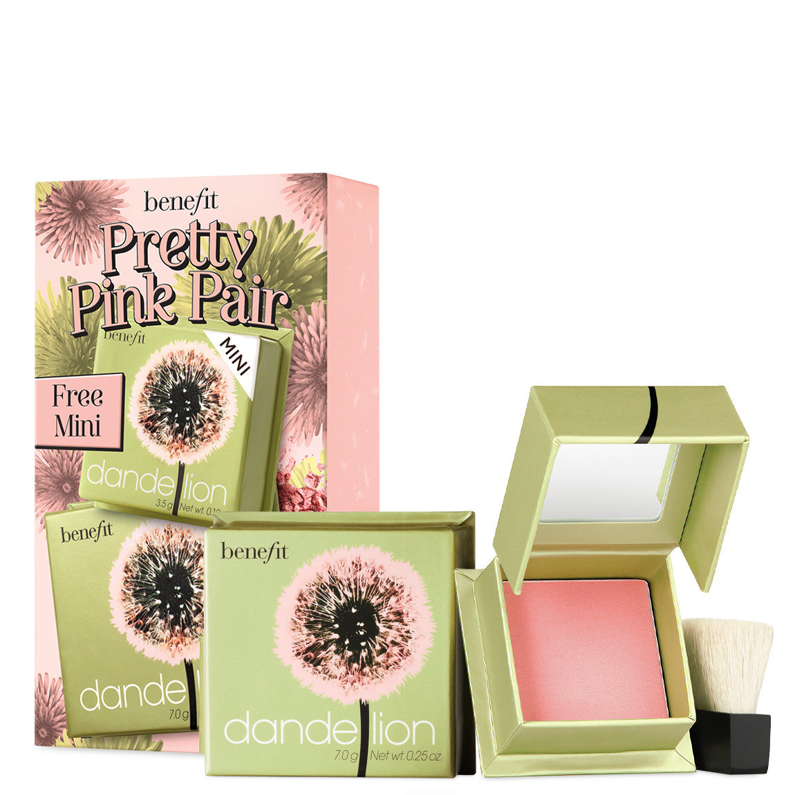 Benefit Cosmetics Pretty Pink Pair Set alternative view 1 - product swatch.
