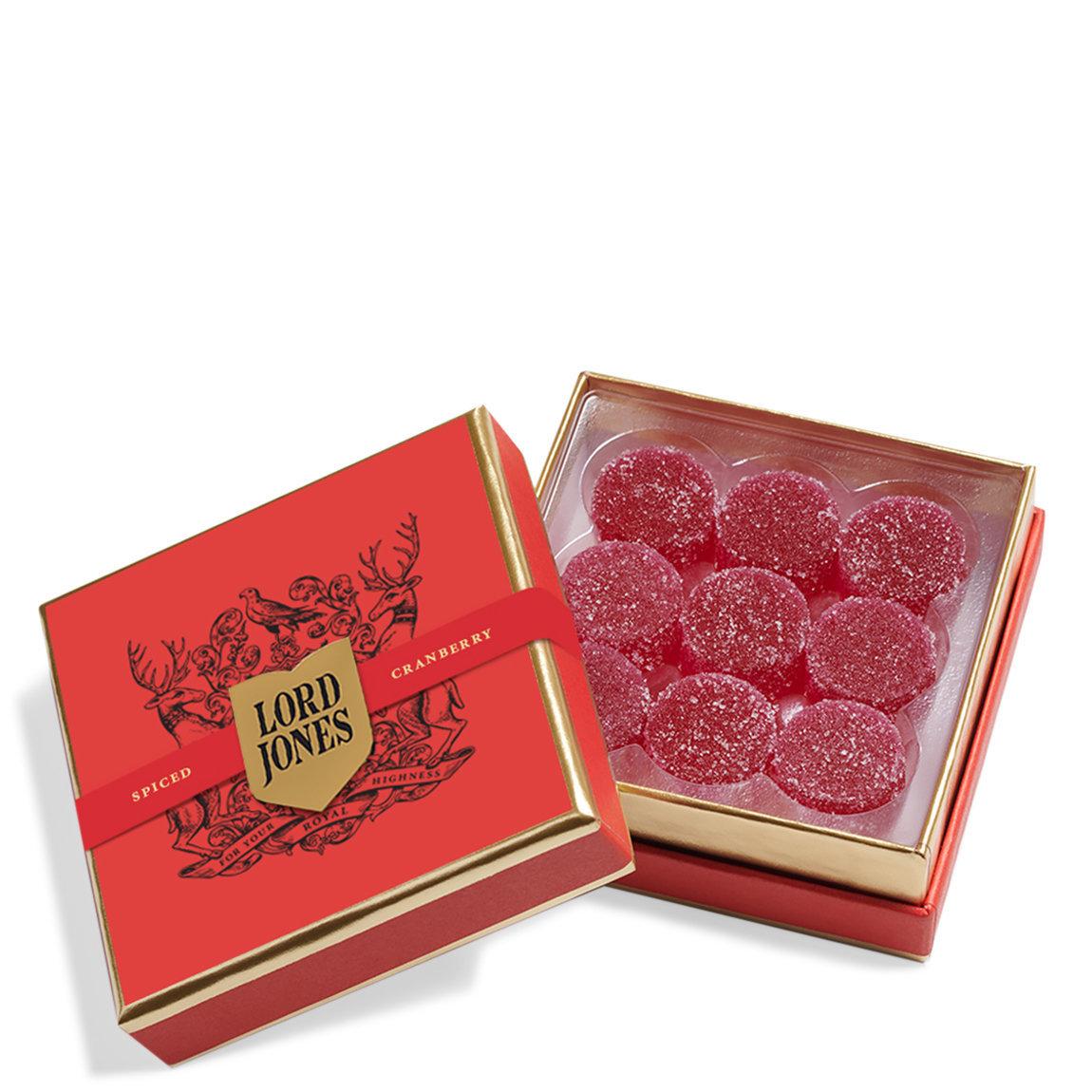 Lord Jones Old Fashioned Hemp-Derived CBD Gumdrops Spiced Cranberry alternative view 1 - product swatch.