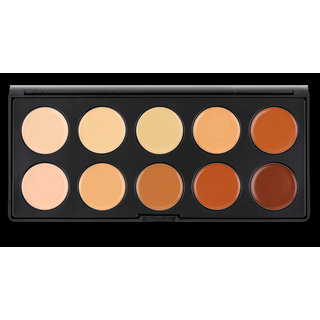 Crown Brush 10 Color Concealer Palette