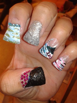 My new yrs nails.
