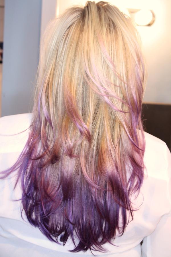 Purple Ombre | Jessica N.'s Photo | Beautylish  Purple Ombre | ...