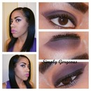 FOTD: Smoky Purple Eyes