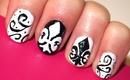 Fleur-de-Lis Nails