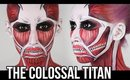 Attack On Titan: Colossal Titan Makeup *REQUESTED* | HALLOWEEN 2014