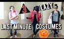 Lazy Last Minute - DIY HALLOWEEN COSTUMES!