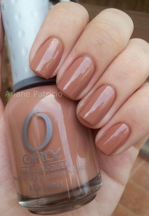 I used Orly Coffee Break :)