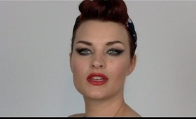 Quick & Easy Vintage 40s 50s Hair Tutorial