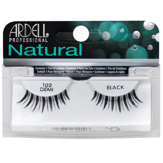 Natural Lashes 102 Demi Black