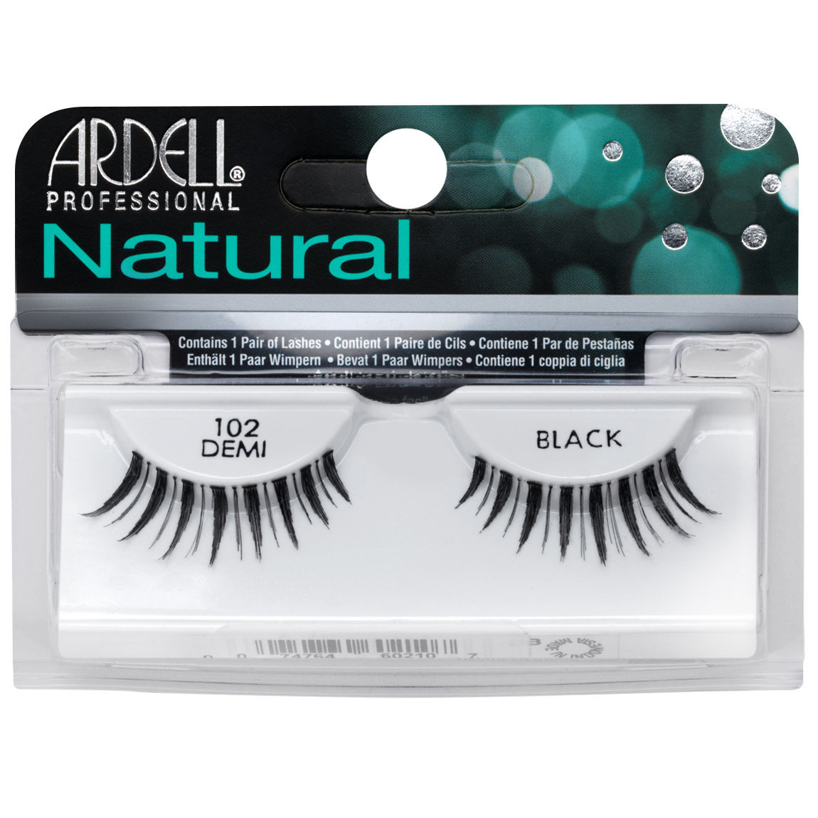 Ardell Natural Lashes 102 Demi Black alternative view 1.