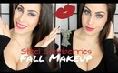 Steel Cranberries Sultry Fall Makeup Tutorial