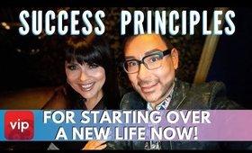 Success Principles -  How To Start Over A New Life Now | mathias4makeup
