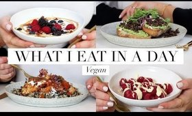 What I Eat in a Day #40 (Vegan/Plant-based) AD   JessBeautician