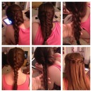 Finally mastered these fancy braids!