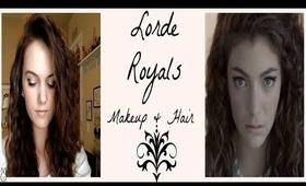 Lorde Royals Music Video Makeup & Hair Tutorial
