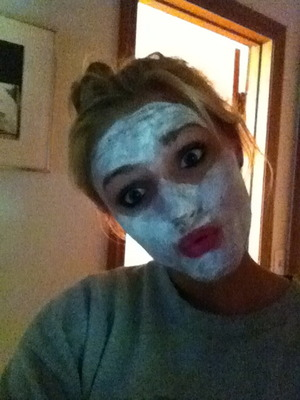 casual face mask picture
