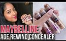 MAYBELLINE AGE REWIND CONCEALER REVIEW   3 Shades   Stacey Castanha