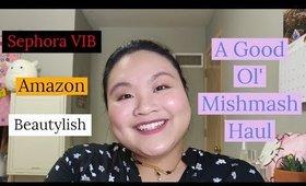 A Good Ol' Mishmash Haul: Sephora, Amazon, Beautylish and more! | Amy Yang